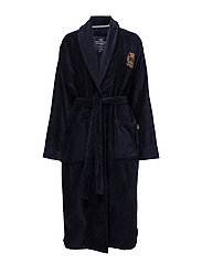Lexington Velour Robe - BLUE