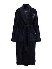 Lexington Velour Robe - BLUE