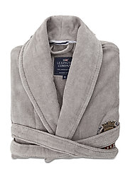 Lexington Velour Robe - GRAY