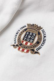 Lexington Home - Lexington Velour Robe - badrockar - white - 2