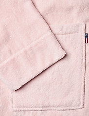 Lexington Home - Lexington Cotton Velour Contrast Robe - bedrok - pink/white - 3