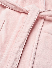 Lexington Home - Lexington Cotton Velour Contrast Robe - bedrok - pink/white - 4