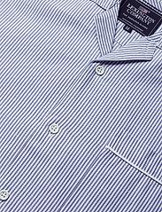 Lexington Home - Pajama Set organic - pyjamat - lt blue/white - 4
