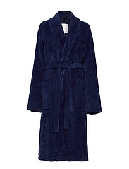 Hotel Velour Robe - DRESS BLUE