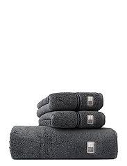 Lexington Hotel Towel Gray/Dk Gray - GRAY/DK GRAY