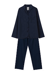 Hotel Women's Organic Cotton Sateen Pajama - DK. BLUE