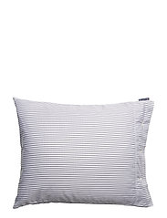 White/Black Tencel Striped Pillowcase - WHITE/BLACK