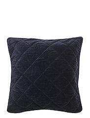 Quilt Velvet Sham - BLUE