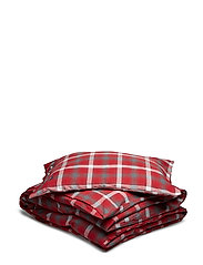 Checked Flannel Set - RED/GRAY