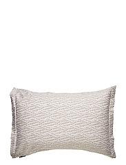 Printed Leaf Sateen Pillowcase - AUTUMN LEAF