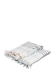 Checked Wool Throw - MULTI