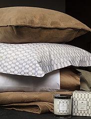 Lexington Home - White/Dk Beige Printed Cotton Sateen Pillowcase - tyynyliinat - white/dk beige - 3
