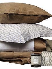 Lexington Home - Jacquard Cotton Velvet Pillow Cover 65x65cm - tyynyliinat - dk. beige - 2