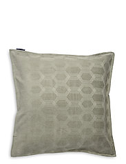 Jacquard Cotton Velvet Pillow Cover 65x65cm - SAGE GREEN