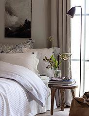 Lexington Home - LtGray/White Striped Cotton Seersucker Duvet Cover - duvet covers - lt gray/white - 3