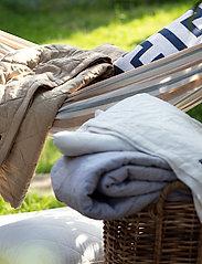 Lexington Home - Diagonal Structured Cotton Bedspread - blankets - lt beige - 3
