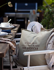 Lexington Home - True American Cotton Canvas Pillow Cover - poszewki na poduszki ozdobne - lt beige - 4