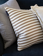 Lexington Home - Block Striped Recycled Cotton Pillow Cover - housses de coussins - beige - 3