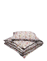 Printed Cotton Sateen Bed Set - MULTI