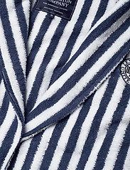 Lexington Home - Striped Cotton-Mix Terry Robe - yö- & oloasut - blue/white - 2