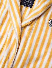 Lexington Home - Striped Cotton-Mix Terry Robe - bedrok - yellow/white - 2