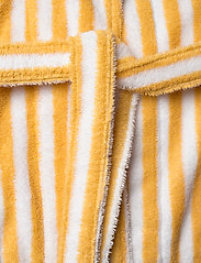 Lexington Home - Striped Cotton-Mix Terry Robe - bedrok - yellow/white - 4