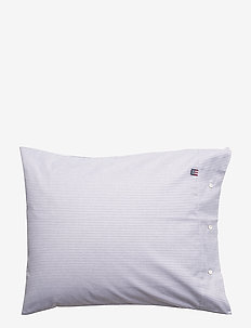 Pin Point Navy/White Pillowcase - pillowcases - navy/white