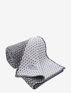 Star Bedspread - sprei - med. gray
