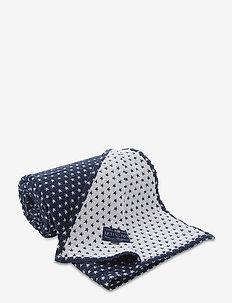 Star Bedspread - bedspread - navy