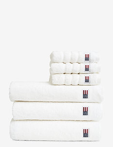 Original Towel White - hand towels & bath towels - white