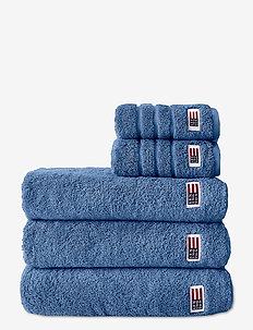Original Towel Medium Blue - ręczniki kąpielowe - med. blue
