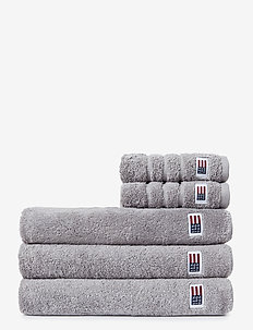 Original Towel Dark Gray - hand towels & bath towels - dk. gray