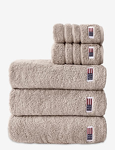 Original Towel Tan - hand towels & bath towels - tan