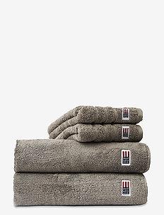 Original Towel Gray Olive - ręczniki kąpielowe - gray olive