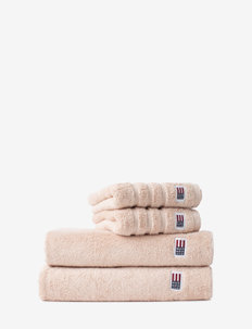 Original Towel Rose Dust - pyyhkeet & kylpypyyhkeet - rose dust