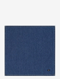 Icons Cotton Twill Denim Napkin - serwetki papierowe - denim blue