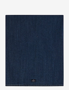 Icons Cotton Twill Denim Tablecloth - nappes et chemins de table - denim blue