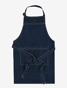 Icons Cotton Twill Denim Apron - fartuchy - denim blue