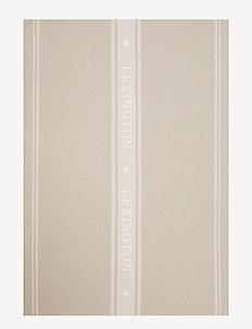 Icons Cotton Jacquard Star Kitchen Towel - keittiöpyyhkeet - beige/white