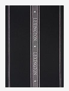 Icons Cotton Jacquard Star Kitchen Towel - keittiöpyyhkeet - black/white