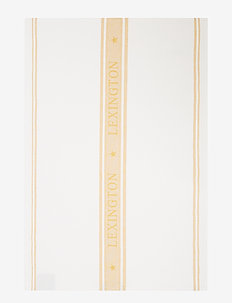 Icons Cotton Jacquard Star Kitchen Towel - ręczniki kuchenne - white/yellow