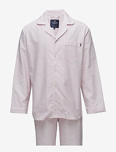 American Authentic Pajama - pyjamas - pink/white