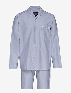 Pajama Set organic - pyjamas - lt blue/white