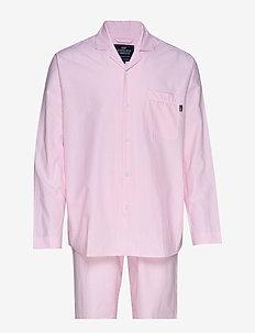 Pajama Set organic - PINK/WHITE