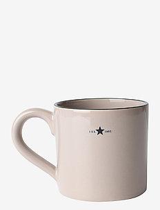 Stoneware Mug - tasses à café - beige/dk blue