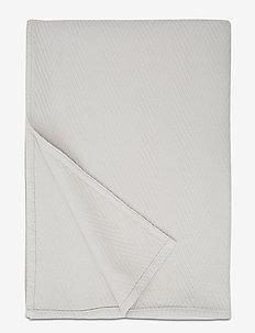 Hotel Herringbone Bedspread - sengetepper - beige