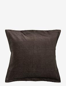 Hotel Velvet Sham - cushion covers - dk. gray