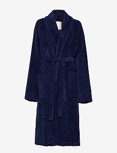 Hotel Velour Robe - aamutakit - dress blue