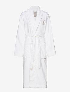 Hotel Velour Robe - aamutakit - white