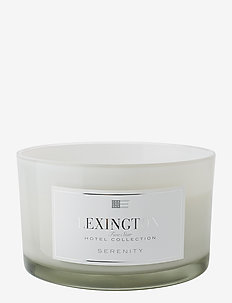 Hotel Scented Candle Serenity (with 3 wicks) - tuoksu - serenity